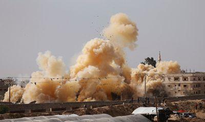 Bourání pokračuje. Armáda v akci 2. 11. 2014