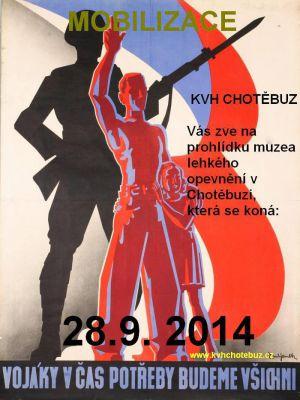 Mobilizace KVH Chotěbuz (28.09.2014)