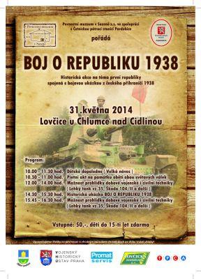 Boj o republiku 1938 aneb Lovčice 2014