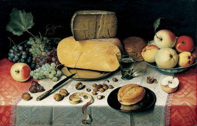 Obraz Zátiší Autor: Floris van Dyck (cca 1575–1651)