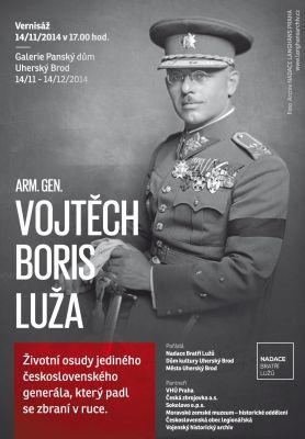 Výstava - Arm. gen. Vojtěch Boris Luža (14.11.-14.12.2014)