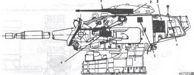 M60A Patton - věž