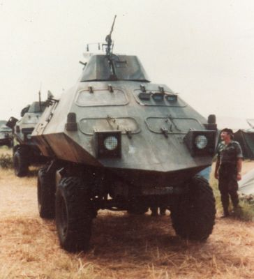 Mine Protected Combat Vehicle – MPCV (a.k.a. 'Spook')