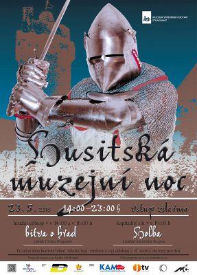 Husitská muzejní noc Strakonice (23.5.2015)