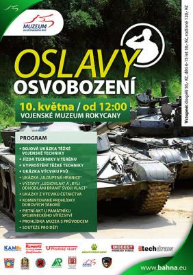 Muzeum na demarkační linii v Rokycanech - Oslavy 69. výročí osvobození