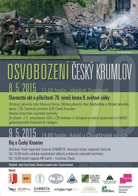 Osvobození Český Krumlov (8.-9.5.2015)
