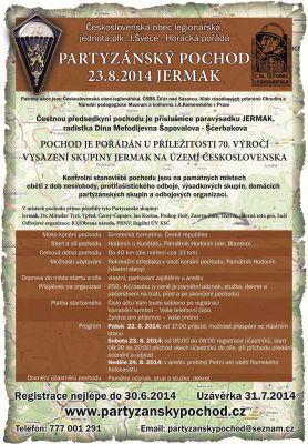 Partyzánský pochod Jermak (23.8.2014)