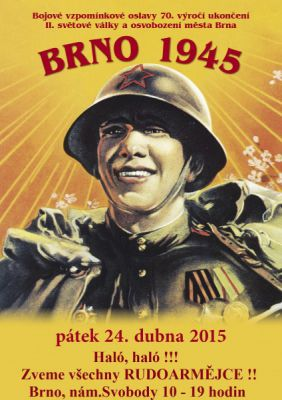 Ořechov 1945