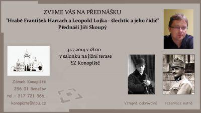 přednáška Konopiště