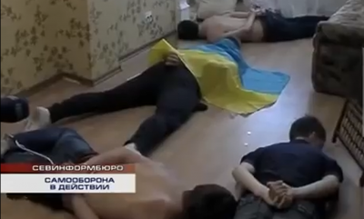 zatčení Ukrajinci