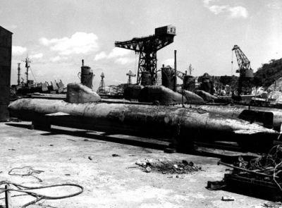 Jokosuka, září 1945