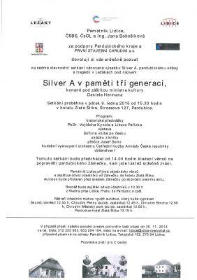 Setkání Silver A v paměti tří generací (9.1.2014)