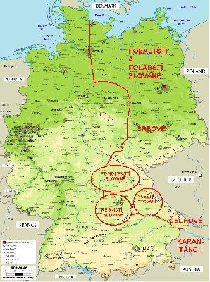 Slované v Německu
