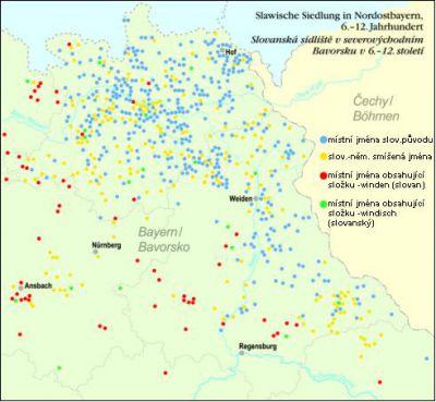 slovanská toponyma v Bavorsku