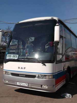 ruský autobus - politická turistika
