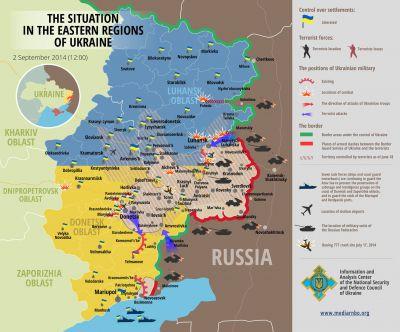 Stav na Ukrajině 2.9.2014