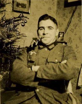 Voják o Vánocích