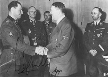 Leon Degrelle u Hitlera