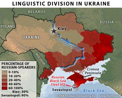 Jazyky na Ukrajině