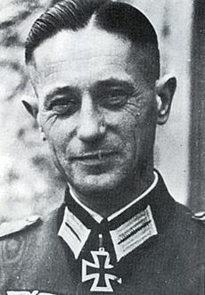 Brigadeführer Fritz Kraemer, Photo courtesy of Mark C. Yerger-Waffen SS Comanders, Vol.1