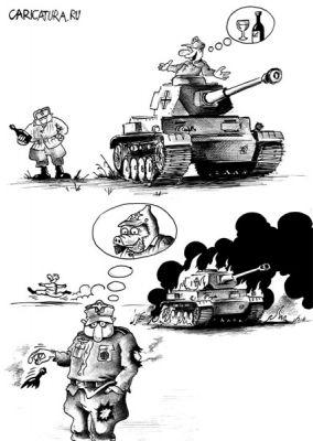 tankista a tankoborník