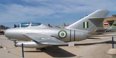 Egyptský MiG-15UTI