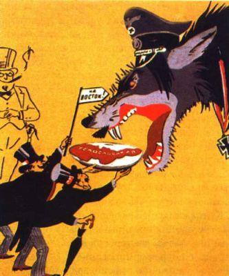 karikatura mnichvosky diktat