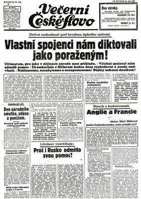 Reakce novin na situaci ohledne pohranici