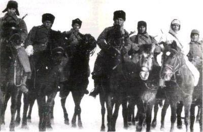 Skupina kozáků