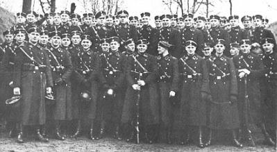 1. Kompanie LAH v Jüterbogu, únor 1934.