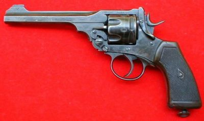 Webley .455 caliber MK. VI (Mark 6, 1915)