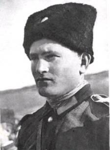 Příslušník Donského dobrovoleckého kozáckého pluku 1942-1943