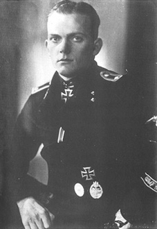 Oberscharführer Richard Rudolf, photo courtesy Roger Bender Blood and Honor