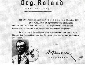 Dokument praporu Roland