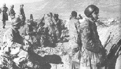 SS-výsadkářští ženisté v okolí Drvaru, 5.1944