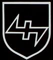 znak 34. SS Freiwilligen Grenadier Division Lansdstorm Nederland