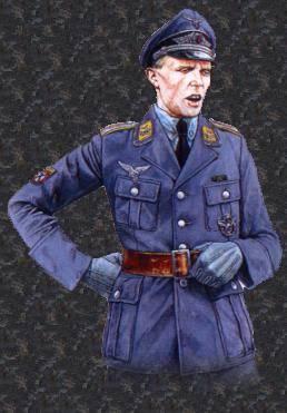 Poručík letectva VVS KONR