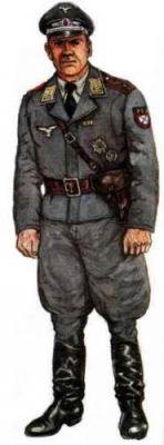 kapitán 1. Ost Geschwader der Luftwaffe ROA