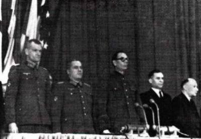 Truchin, Žilenkov, Vlasov, Malyškin a Zakupnij