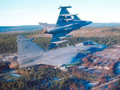 Saab J-39 Gripen 01