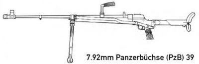7.92mm Panzerbuchse 39