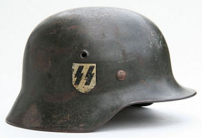 Německá helma M40 SS