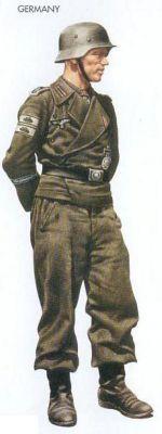 Granátník z divize Grossdeutschland