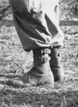 Vojenské boty Double Buckle