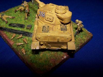 Diorama Panzer IV