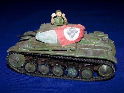 Diorama Panzer II