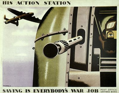 British Propaganda Posters of the World War britska propaganda