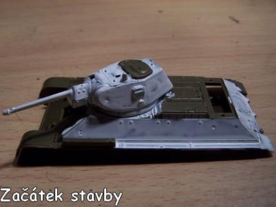 T-34 1:72 od Italeri